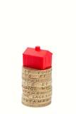 Mercado inmobiliario imagenes de archivo