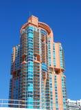 Mercado inmobiliario caliente en Miami Beach, la Florida imagenes de archivo