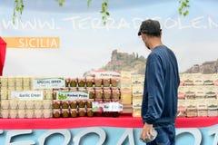 Mercado italiano Foto de Stock Royalty Free