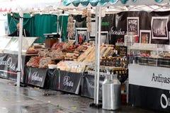 Mercado italiano Fotografía de archivo libre de regalías
