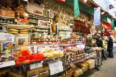 Mercado italiano Arthur Ave Bronx NYC Fotografía de archivo libre de regalías