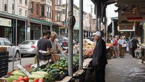Mercado italiano de la 9na calle del sur en Philadelphia Imagen de archivo libre de regalías