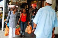 Mercado italiano Philadelphia Imagen de archivo libre de regalías