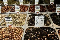 Mercado, Jerusalén, Israel Fotografía de archivo libre de regalías