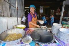Mercado, Lampang, Tailandia foto de archivo libre de regalías