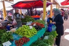 Mercado libre en Turquía Imagen de archivo libre de regalías