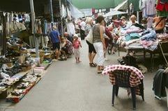 Mercado lituano típico Fotografía de archivo libre de regalías