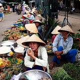 Mercado local fotos de stock