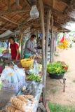 Mercado local Fotos de Stock Royalty Free