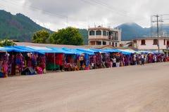 Mercado local dos produtos feitos a mão fotos de stock royalty free