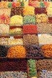 Mercado local en Barcelona fotografía de archivo