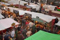 Mercado Londres de Camden Fotos de Stock Royalty Free