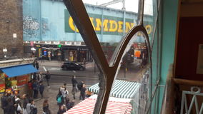 Mercado Londres de Camden Fotos de archivo libres de regalías