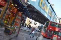 Mercado Londres de Camden Imagen de archivo libre de regalías
