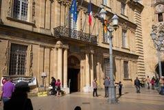 Mercado Marche Aix-en-Provence Imagen de archivo libre de regalías