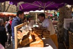 Mercado Marche Aix-en-Provence Fotografía de archivo