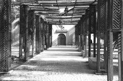 Mercado marroquí vacío Imagenes de archivo