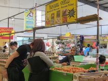 Mercado moderno do mantimento em Serpong Fotos de Stock
