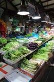 Mercado molhado em Shanghai do centro Fotografia de Stock Royalty Free