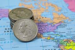 Mercado mundial 2 fotos de stock royalty free