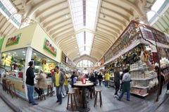 Mercado municipal el Brasil de Sao Paulo Imágenes de archivo libres de regalías