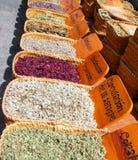 Mercado natural herbario de la medicina tradicional Foto de archivo