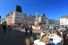 Mercado no Trier Imagem de Stock Royalty Free