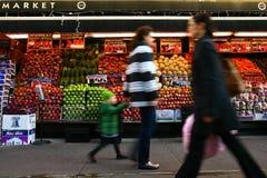 Mercado NYC del Westside imagenes de archivo