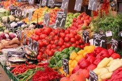 Mercado orgánico Foto de archivo libre de regalías