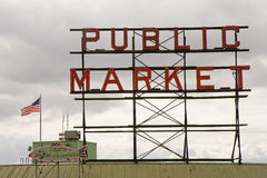 Mercado público Fotografia de Stock