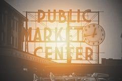Mercado público Imágenes de archivo libres de regalías