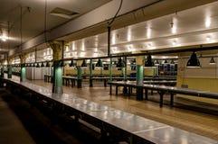 Mercado público vazio de Pike em Seattle Washington United States de Imagem de Stock Royalty Free