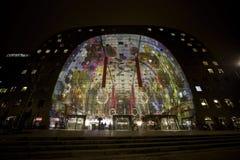 Mercado Pasillo de Rotterdam fotos de archivo libres de regalías