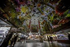 Mercado Pasillo de Rotterdam imagen de archivo libre de regalías