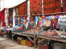 Mercado peruano Foto de archivo