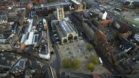 Mercado, quadrado do trinity, Kingston Upon Hull, yorkshire do leste foto de stock royalty free