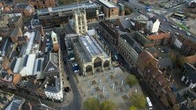 Mercado, quadrado do trinity, Kingston Upon Hull, yorkshire do leste foto de stock