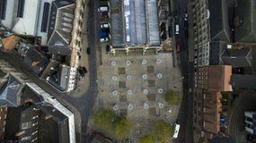 Mercado, quadrado do trinity, Kingston Upon Hull, yorkshire do leste imagem de stock royalty free
