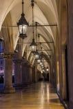 Mercado que construye Kraków Imagen de archivo libre de regalías