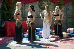 Mercado romano 55 - dançarinos Fotos de Stock Royalty Free