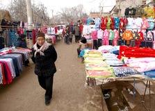 Mercado rural fotos de stock