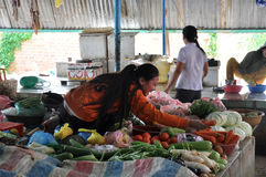 Mercado rural Fotografía de archivo libre de regalías