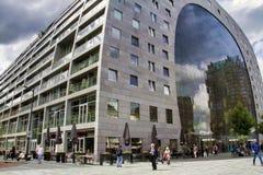 Mercado Salão, Rotterdam, Países Baixos imagens de stock royalty free