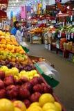 Mercado San Juan de la ciudad Foto de archivo