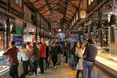 Mercado San Miguel i Madrid Arkivbilder