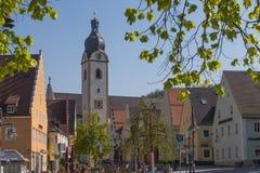 Mercado Schwandorf Fotos de archivo libres de regalías