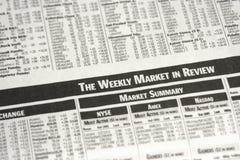 Mercado semanal Imágenes de archivo libres de regalías