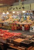Mercado Seoul Coreia do Sul de Gwangjang Imagem de Stock Royalty Free