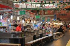 Mercado Seoul Coreia do Sul de Gwangjang Imagem de Stock