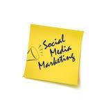 Mercado social Fotografia de Stock Royalty Free